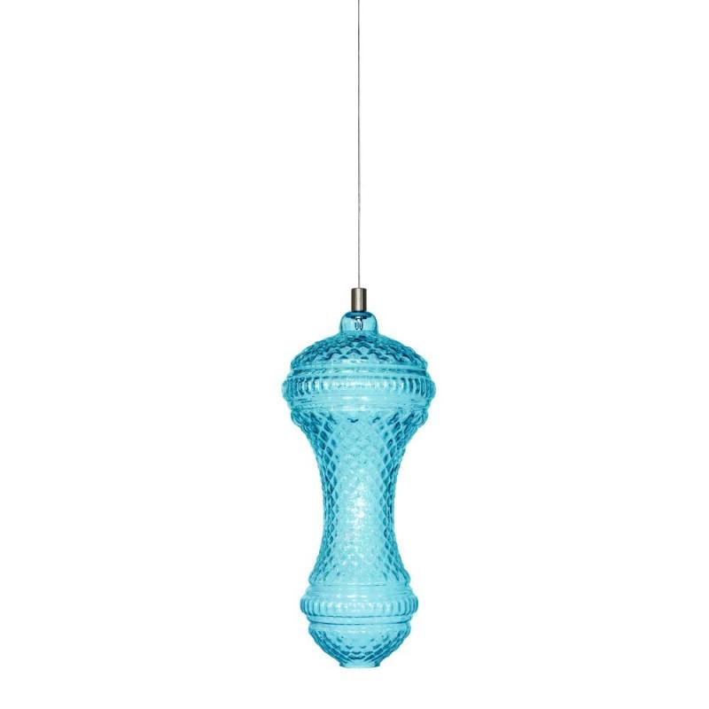 Karman Ceraunavolta AC134 2T INT luce da soffitto in vetro soffiato Tiffany. Scopri i lampadari economici Karman