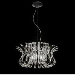 Wave 234.150 Metal lux lampadario classico in vetro