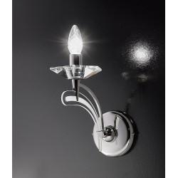 Icaro 1 luce Metallux lampada da parete