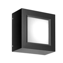 Rossini Enter ENT005 plafoniera led quadrata in alluminio per esterni