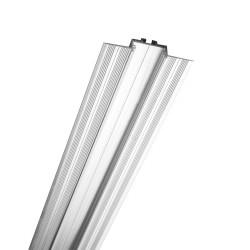 Rossini Ebi EBI021 profilo in alluminio ad incasso rasato