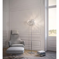 Marchetti Diamante T - Lampade da terra con cristalli - lampade da terra offerte - lampade da terra ufficio
