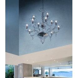 Dedalo 192.112 Metallux lampadario moderno