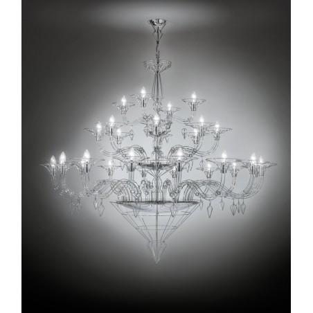 Dedalo 192.128 Metallux lampadario moderno