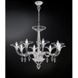 Dedalo 192.188 Metallux lampadario moderno 8 luci