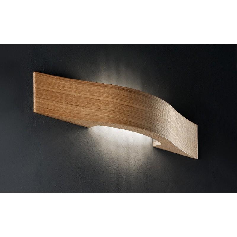 Masiero Libe A55 - applique moderna in legno