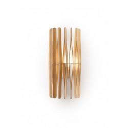Fabbian Stick F23D01 lampada da parete in legno.
