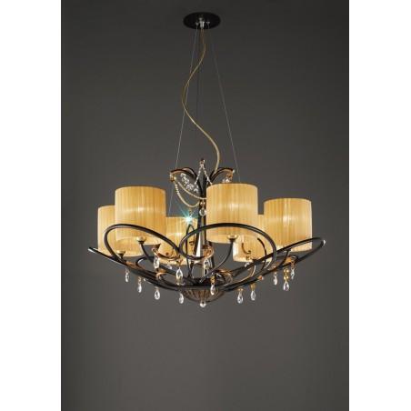 Aida L6L Bellart lampadario classico - Lampadari classici per soggiorno