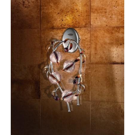 Ametista A4L Lampada da parete