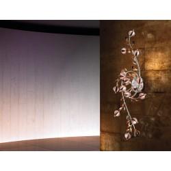 Ametista PL14L Lampade da parete per interni, bajour da parete, luci da interno a parete applic luci