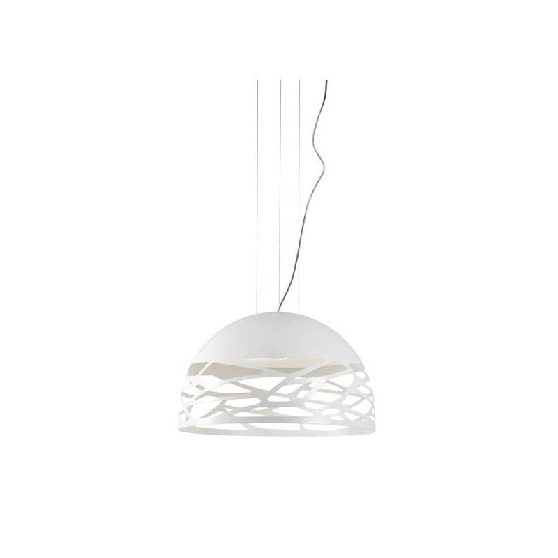 Kelly Small Dome 50 SO1 Studio Italia Design bianco