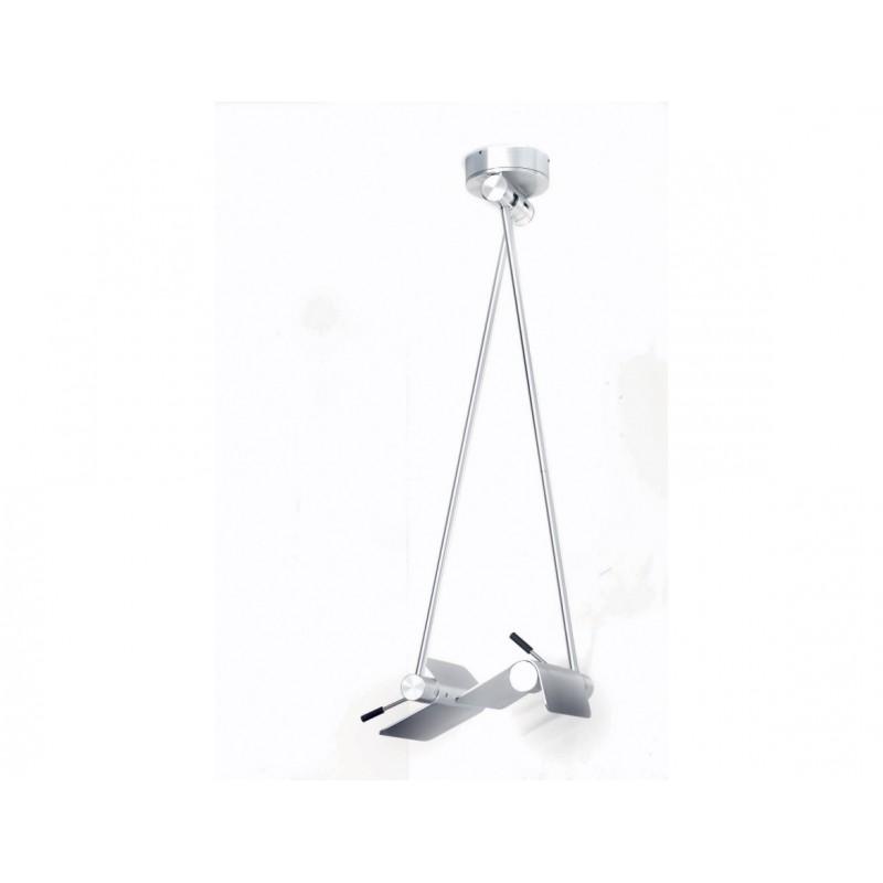 Lampada a sospensione Attik 2 bracci - Lampadari moderno