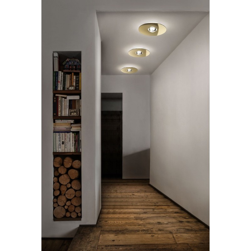 Bugia single Studio Italia Design lampada da soffitto moderna - plafoniere moderne per camera da letto - Lampade moderne a soffi