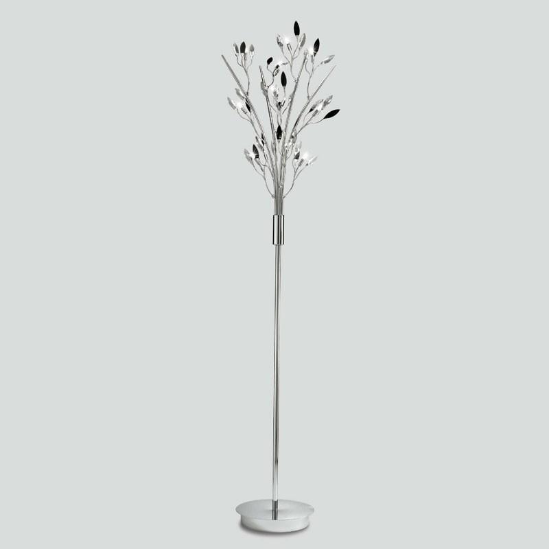 Lampade a piantana moderne Micron Calipso, lampade a stelo da terra, lampade led da terra, lampade lunghe
