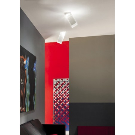 Beetle Medium 60° Cube lampada da soffitto - applique muro moderne