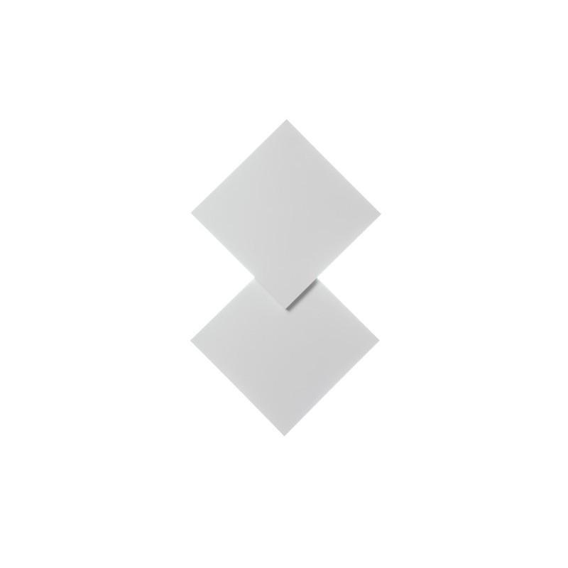 Puzzle double square lampada da parete