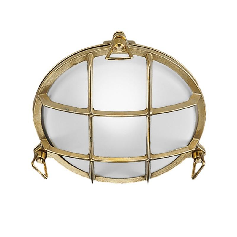Rossini Grillo 868-100 applique-plafone da esterno in ottone