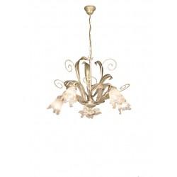Rossini Regio REG002 lampadario classico a 5 luci