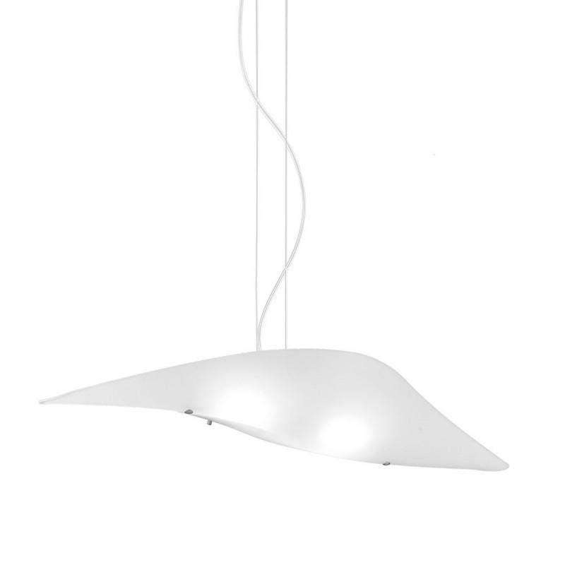 Rossini Aldrin 1400-90 lampada moderna con vetro curvato