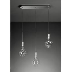 Sforzin Honey 1719.33 led Lampada moderna a 3 luci in linea