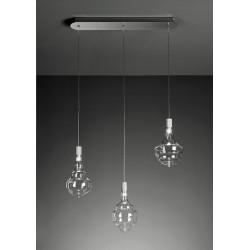 Sforzin Honey 1719.33 led Lampada moderna a 3 luci in linea