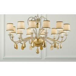 Masiero Noblesse 12 lampadario classico