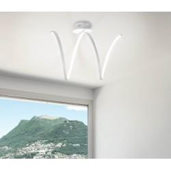 Sikrea Lea/PL plafoniera moderna da cucina o soggiorno a led