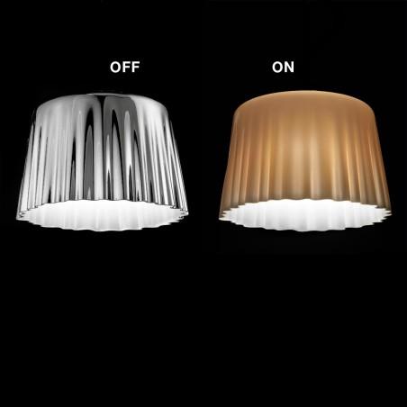 Vistosi Cloth LT G lampada da tavolo altezza 50 cm