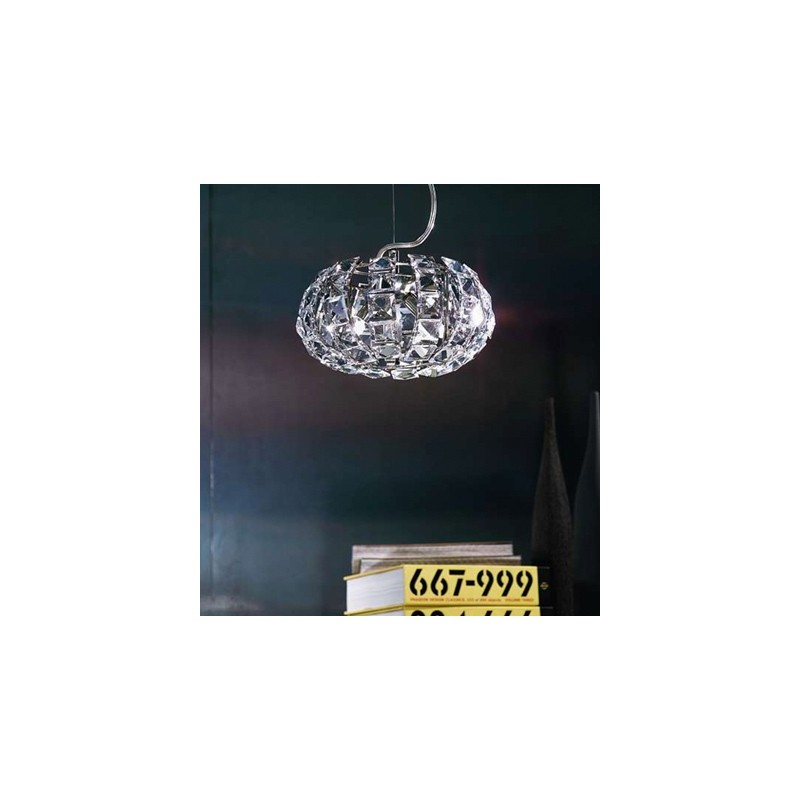 Marchetti Andromeda S24 lampadario moderno don diffusore in cristallo