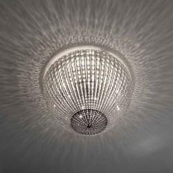 Marchetti Helios PL 70 plafoniera moderna in cristallo diametro 70 cm