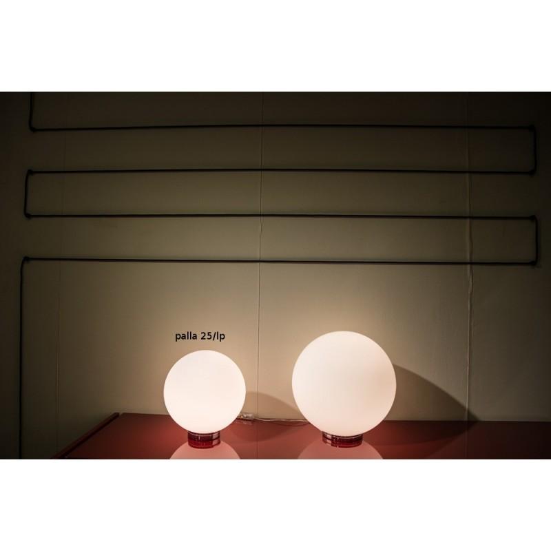 Vesoi Palla 25/lp lampada da tavolo o comodino