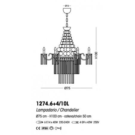 Cangini & Tucci Imperial 1274.6+4/10L sospensione classica