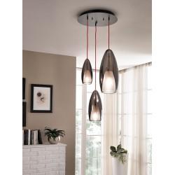 Cangini & Tucci Flute 1399MX.43.3L lampadari da soffitto di design, lampadari design da soffitto