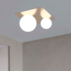 Marchetti Moons PL luci moderne di design, luci soffitto degin, plafoniere a led da soffitto