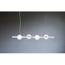 Marchetti Tin tin S4 sospensione in metallo e diffusore in vetro