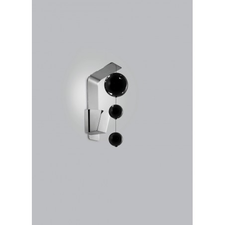 Bolero Metal lux lampada da parete moderna