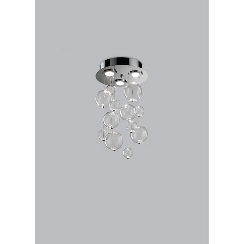Bolero Metal lux plafoniera moderna diametro 30