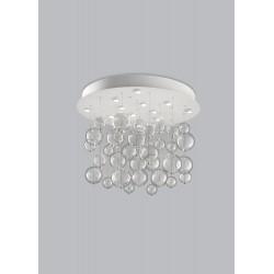 Bolero Metal lux plafoniera moderna diametro 100 cm