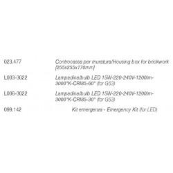 Incasso ottica arretrata 4045B di 9010