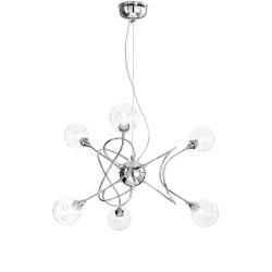 Rossini Fly 1600-6 lampadario moderno a bracci cromato