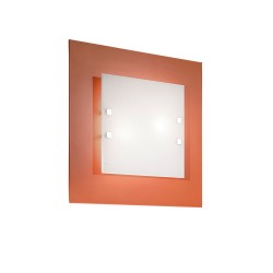 Rossini Astrid 2632-55-LED applique plafoniera moderna quadrata 57x57