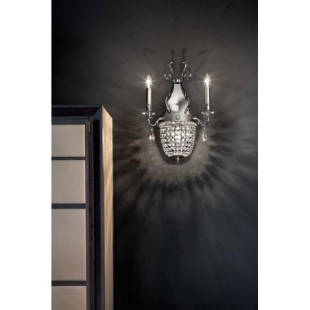 Masiero Elegantia A2+1lampada da parete classica