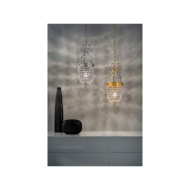 Masiero Elegantia 1 lampada a sospensione classica
