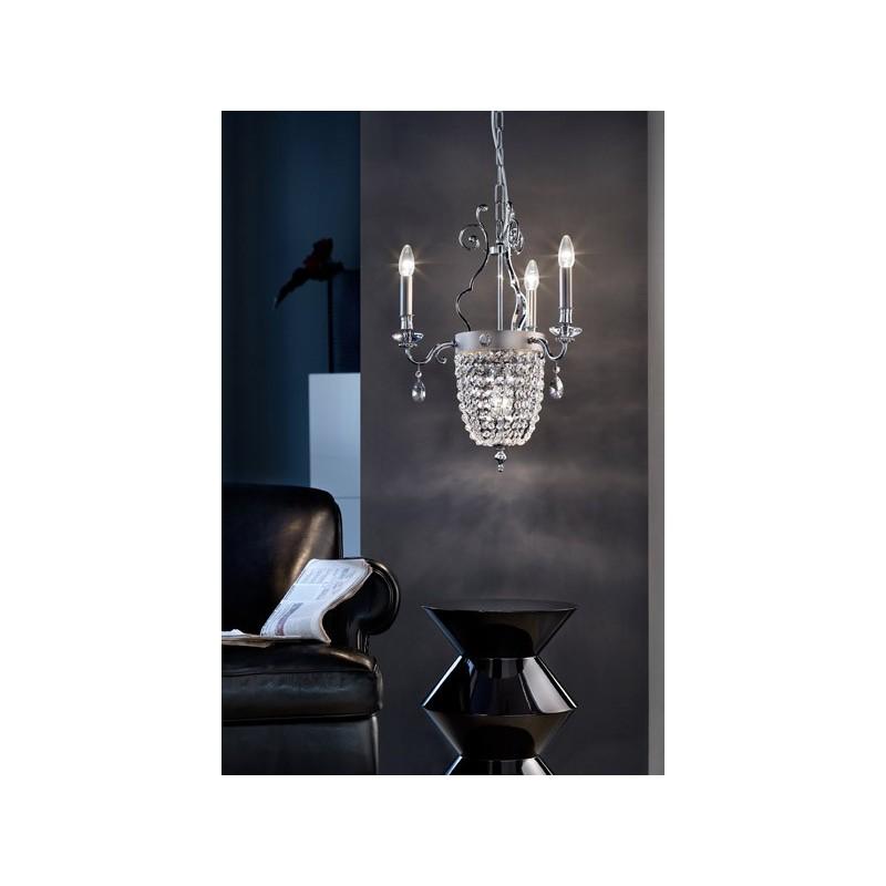 Masiero Elegantia 3+1 lampada a sospensione classica