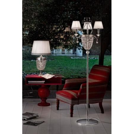 Masiero Elegantia STL3 lampada da terra con paralume