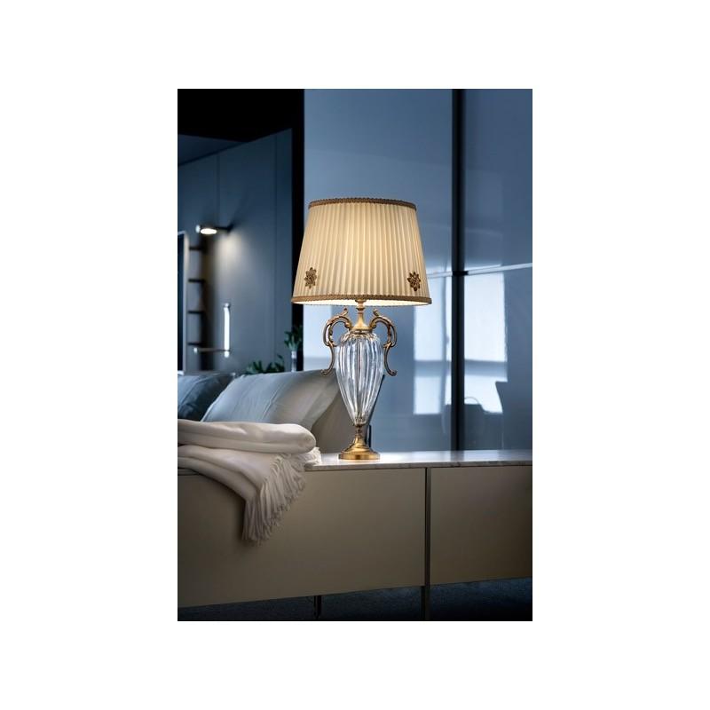 Primadonna TL1G Lampada da tavolo vetro trasparente - lampade per como e comodini