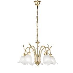 Rossini Francis 3788-5 lampadario classico in metallo laccato