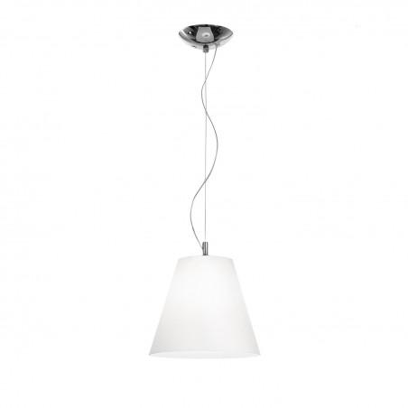 Rossini Gloria 10850-20 lampadario moderno in vetro soffiato bianco