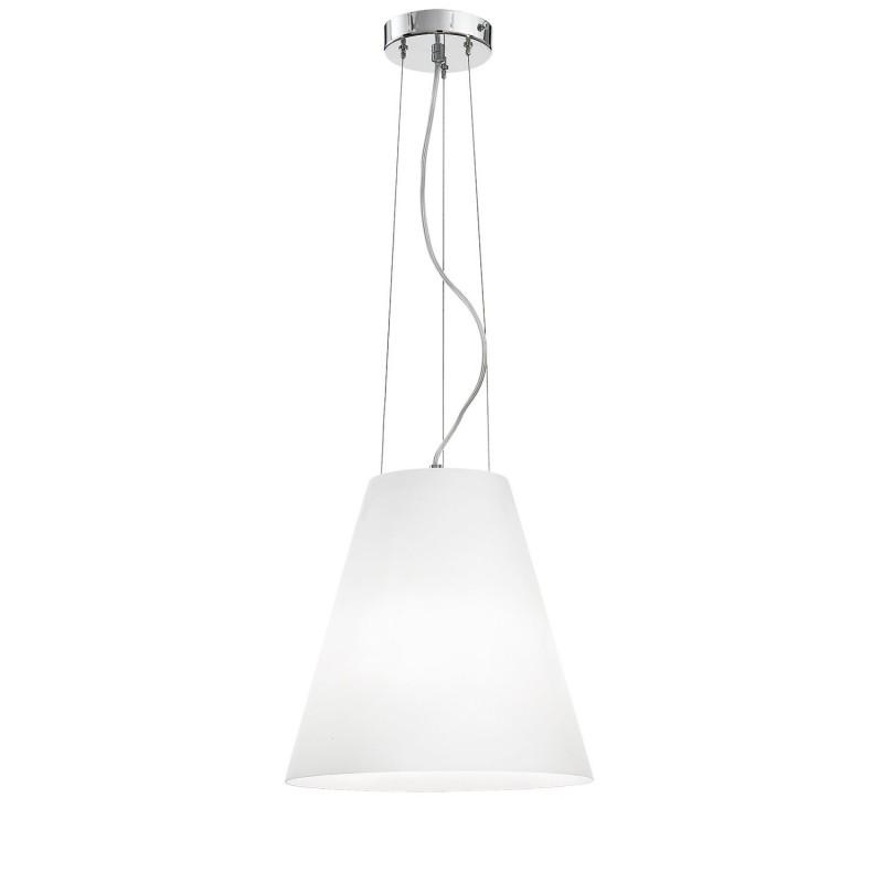 Rossini Gloria 10850-30 lampadario moderno in vetro soffiato bianco