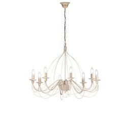 Rossini Felice FEL003 lampadario classico in metallo stile rustico
